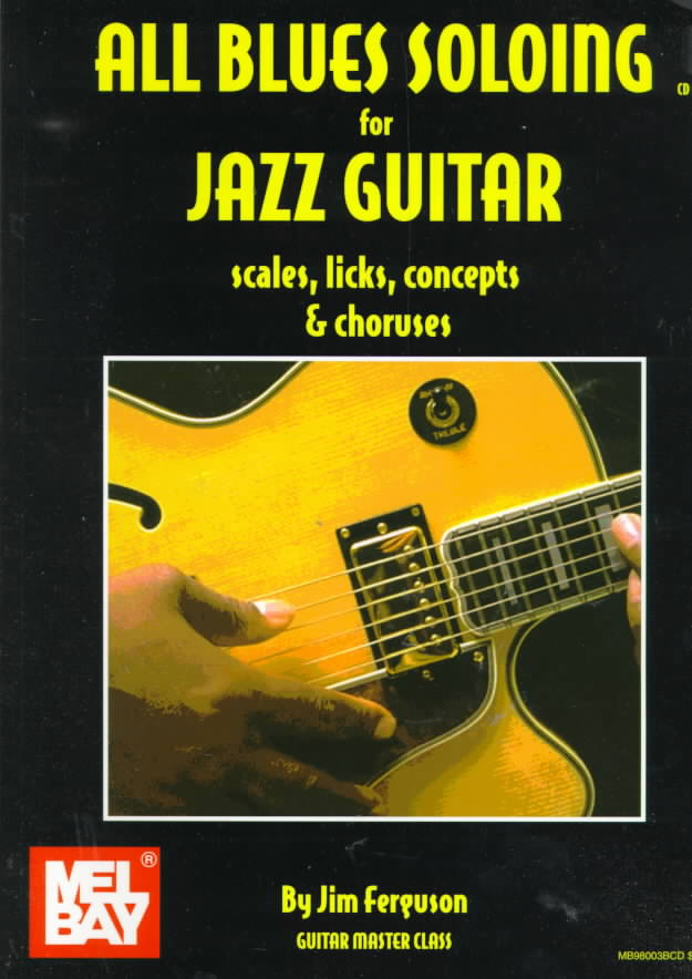All Blues Soloing for Jazz Guitar By Ferguson, Jim